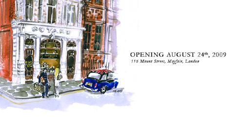 Goyard London Opening