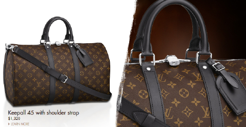 Louis Vuitton Macassar Keepall 45