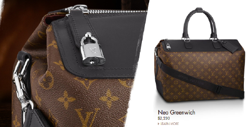 Louis Vuitton Macassar Neo Greenwich