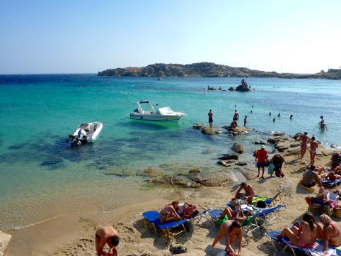 Paranga Beach, Mykonos