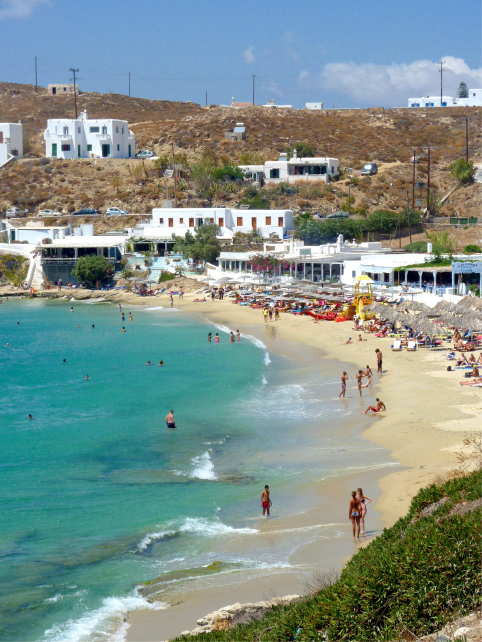 Agias Stefanos Beach, Mykonos
