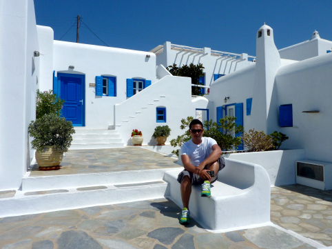 Hotel Tagoo Cycladic Architecture
