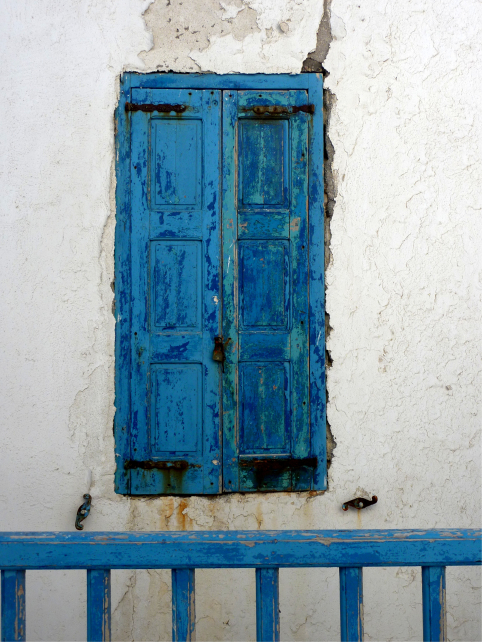 Mykonos Town Window