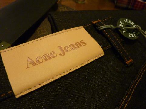 Acne Jeans Max Raw Slim Jean
