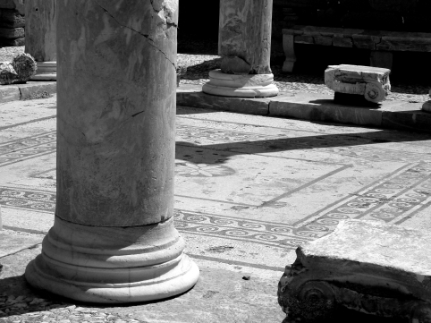 Delos Island Columns