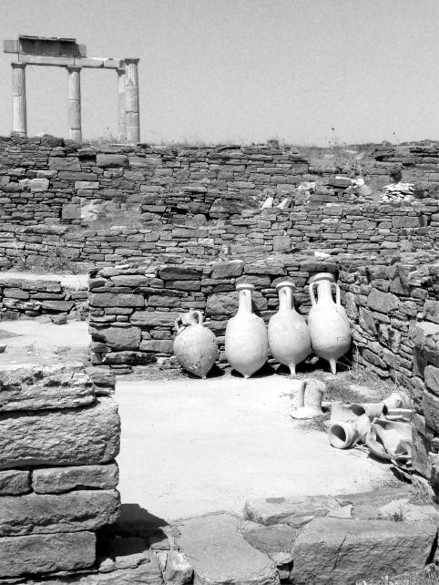 Delos Island Jars