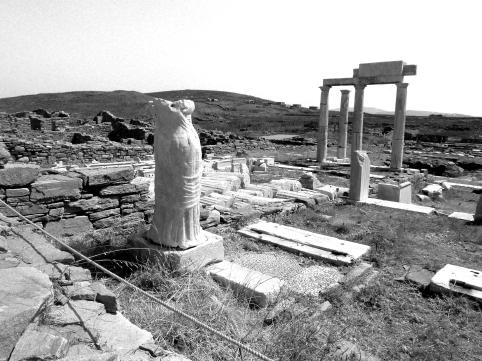 Delos Island Lady