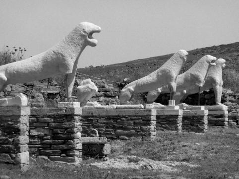 Delos Island Lions