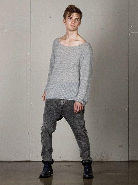 Odeur Liquid Knit Grey