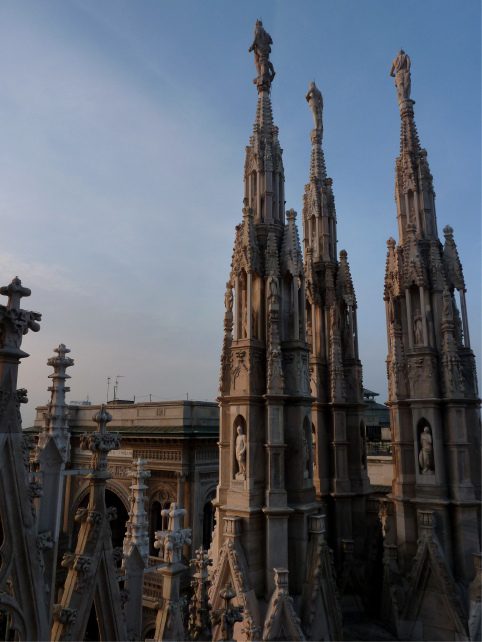 Duomo Spires