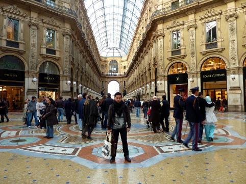 Galleria Vittorio Emanuelle II Arcade