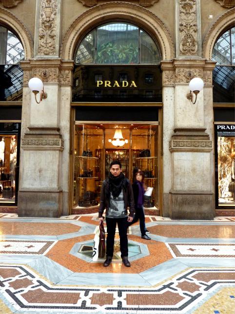 Galleria Vittorio Emanuelle II Prada