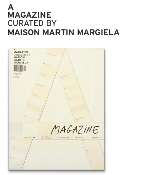 A magazine curated by maison martin margiela fresh mess for Magazine maison